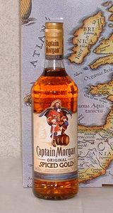 Jamaika - Captain Morgan Spiced Gold